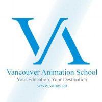 Vancouver Animation School  logo